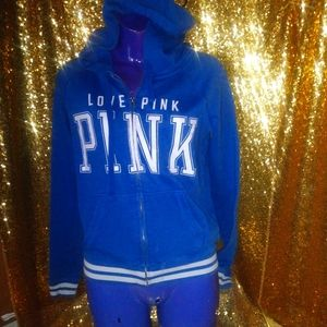 Women's Victoria Secret Pink brand zip-up hoodie
